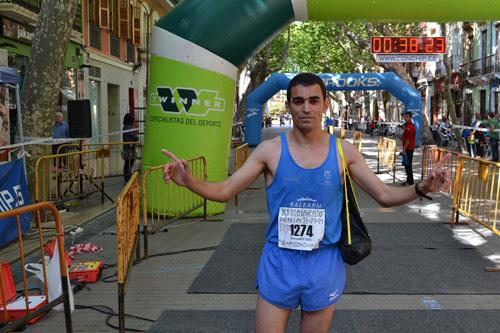 Said-Dayday vencedor del-Cuarto-de-Maraton