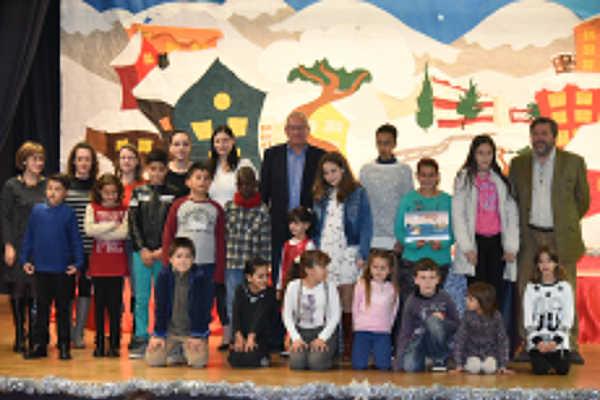 Premis del XXI Concurs Escolar de Betlems i XXI Concurs Escolar de Targetes de Nadal de Dénia.