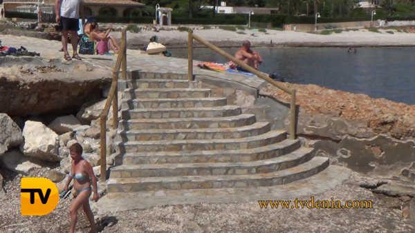 escalera punta negra 2