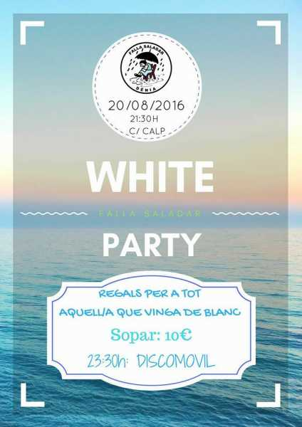 Cartell WHITE PARTY