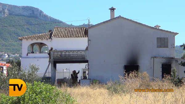 Incendio Casa 1