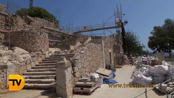 castillo denia escalera 4