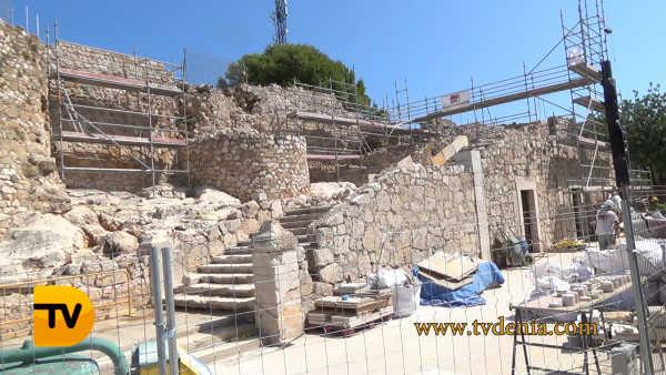 castillo denia escalera 6