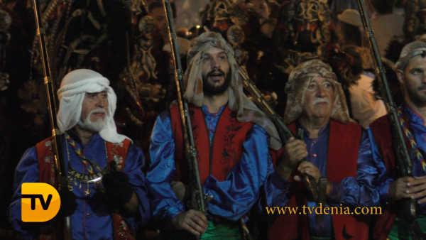 desfile gala Moros y Cristianos 86