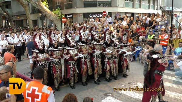 desfile gala Moros y Cristianos 88
