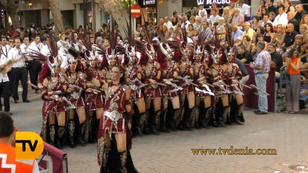 desfile gala Moros y Cristianos