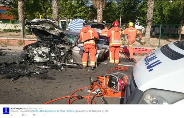 Accidente Fran Vives infoemergencia