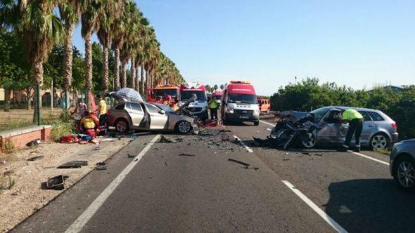 accidente trafico Fran Vives
