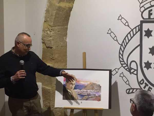 ARTISTA EXPLICA PERGAMÍ
