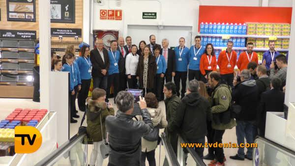 Carrefour Dénia Inauguración