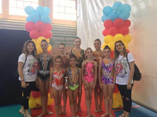 Gimnastas Club DENIA y Club CALPE, participantes en la Fase Autonómica del Campeonato de España por equipos