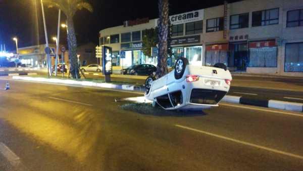 accidente coche Denia