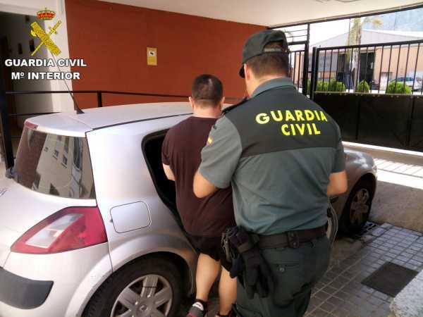 Operación detenidos guardia civil 1