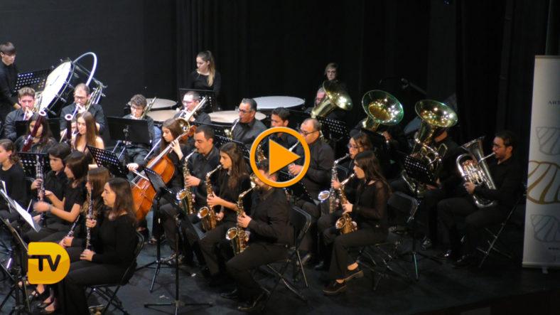 Nueva entrega del concierto de Santa Cecilia de la Banda de Música de Dénia