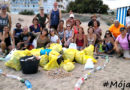 Limpieza de la playa Punta del Raset promovida por #Mójate! y las Brigadas Playas Limpias de la provincia de Alicante