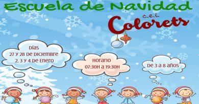 Colorets ofrece servicio durante las fiestas navideñas