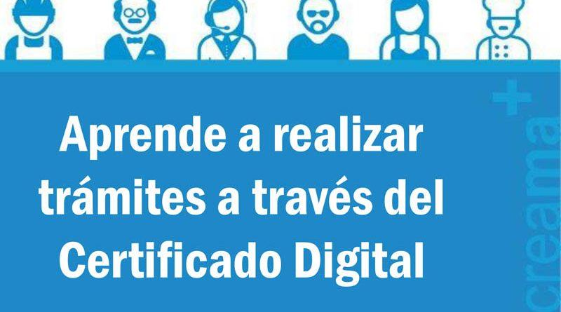 Nuevos talleres gratuitos para aprender a realizar trámites usando el certificado digital