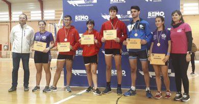 El Real Club Náutico Dénia logra tres oros y una plata en el Campeonato Autonómico de remoergómetro de Gandía