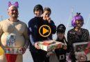 Gran ambiente en la Carrera del Roscón de Reyes de Marina de Dénia
