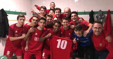 Los juveniles A Fernández Luna del CD Paidos derrotan al Calpe Futsal