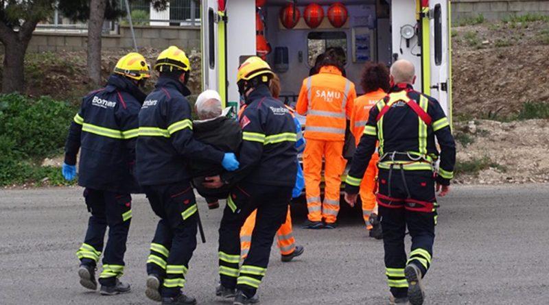 Dos alpinistas alemanes son rescatados en la Serra de Bernia