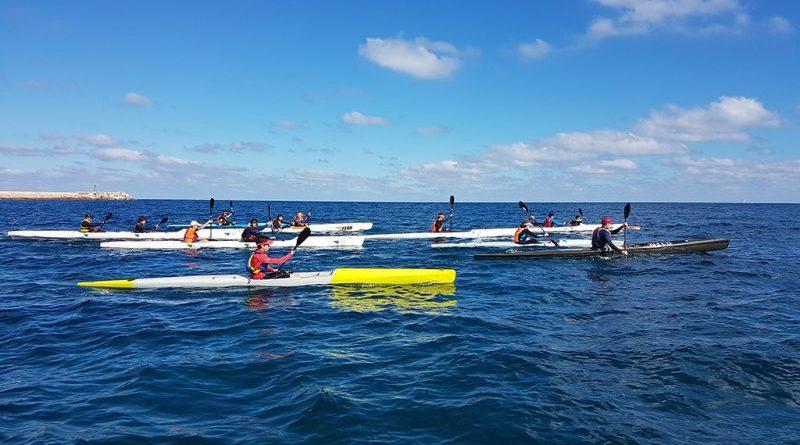 El Real Club Náutico Dénia competirá con 11 palistas en la 1ª Copa España Kayak de mar el 30 y 31 de marzo en Cartagena
