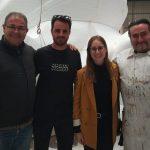Borja Lorente i Palacio i Serra, artistes 2020 de la Falla Oes