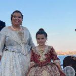 La Falla Baix la Mar viatgen fins Alacant per compareixer en la presentació de les belleses i dames de la Foguera Carrer Sant Vicent