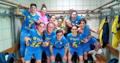 Las chicas del C.F.S Dianense Sprint subcampeonas de la Liga