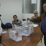 Los candidatos a presidente de Junta Local Fallera ya han votado