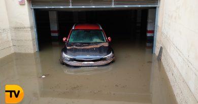 Dénia y Xàbia trabajan a contrarreloj para recuperarse de las lluvias torrenciales
