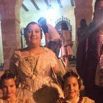 La Falla Baix la Mar felicita a Safir Malonda y Martina Gimeno pel seu nou càrrec com a falleres majors de Dénia