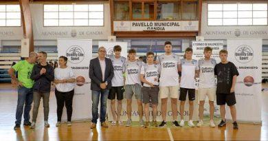 El equipo Junior Masculino del Dénia Basquet Club se proclama campeón del Torneo QL Sports de Gandia