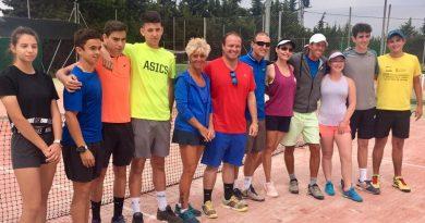 El equipo del Club de Tenis Dénia de Copa Federación cae ante el Benissa en la fase de grupos por 2 a 5