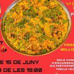 La Falla París Pedrera organitza un concurs de paelles nocturn