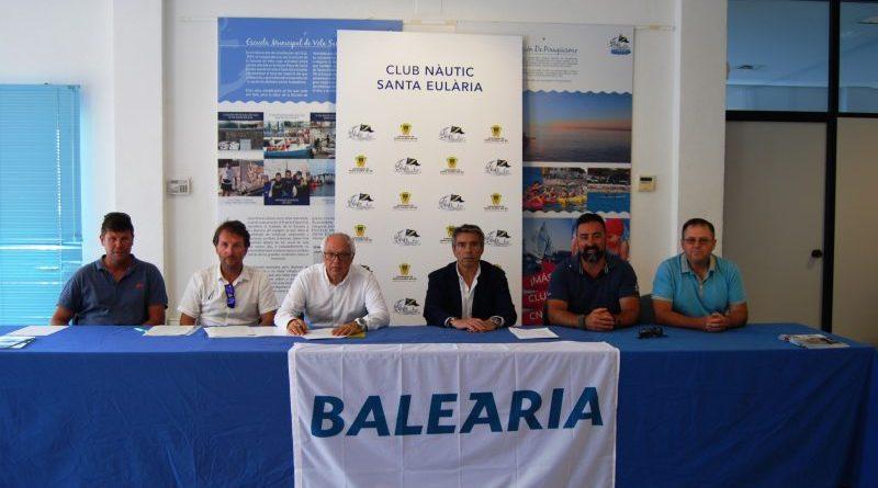 La Fundació Baleària renueva el convenio con los clubes náuticos de Ibiza, con quienes trabajará para reducir el uso de plásticos