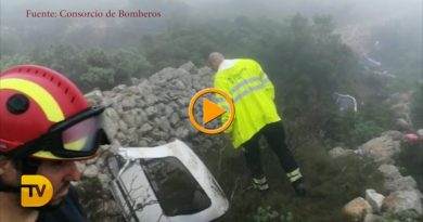 Vídeo del accidente de la avioneta en  Pedreguer