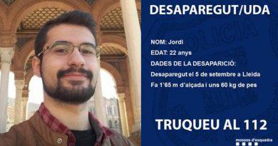 Desaparece en Lleida un joven de la Marina Alta