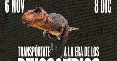 Portal de la Marina inaugura una exposición gratuita de dinosaurios ultra realista