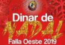La Falla Oeste celebra el tradicional Dinal de Nadal el pròxim 22 de desembre