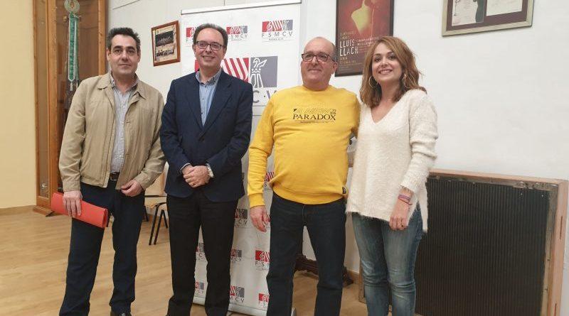 Las 23 sociedades musicales de la Marina Alta eligen a Manuel Berenguer como nuevo presidente comarcal para los próximos cuatro años