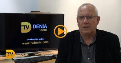 El alcalde de Dénia, Vicent Grimalt analiza mes a mes el 2019