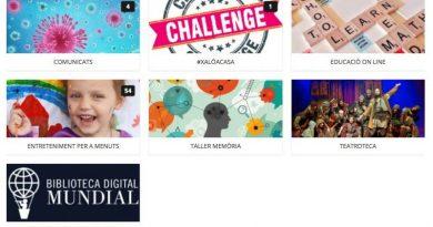 Nuevos talleres de memoria, educación en línea y retos en Batega Xaló