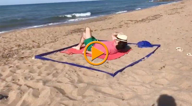 Luis Silvestre, de Grupo Melic, crea un delimitador de distancia social para las playas