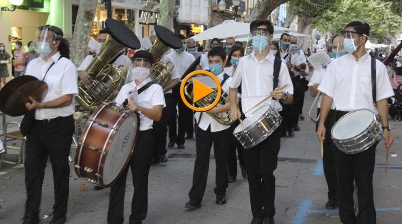 Pasacalles de la Banda de Música de Dénia