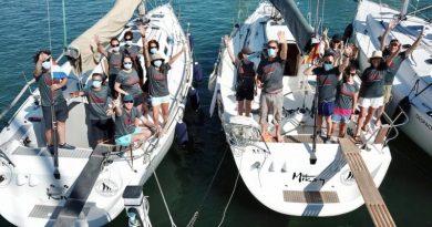 El equipo de Vela de Marina El Portet retoma su actividad con los entrenamientos