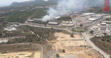 Incendio en Vergel