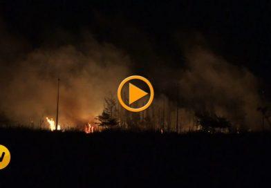 Incendio en una parcela en El Verger