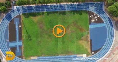 La remodelación de la pista de atletismo y el nuevo césped del Diego Mena ya son una realidad