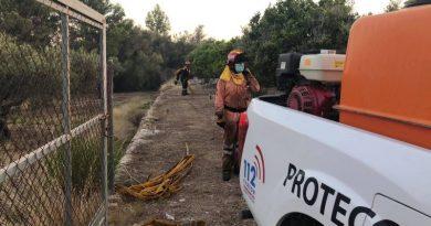 Protección Civil cierra la campaña de verano con 1.164 horas de vigilancia forestal y 12 rescates en la costa